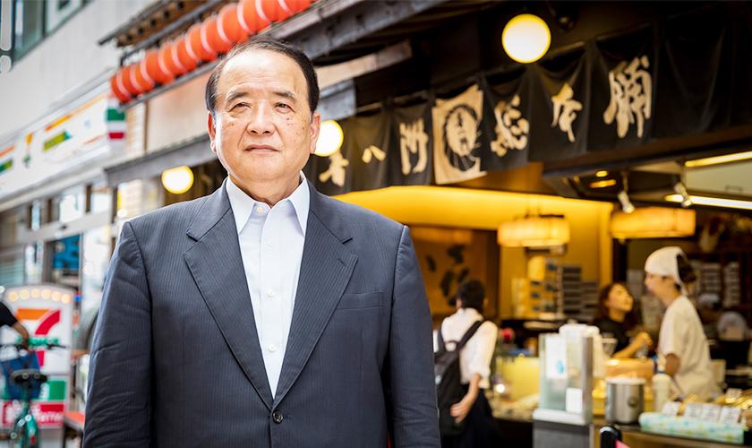 株式会社 喜八洲総本舗 代表取締役社長 中田 八郎 様