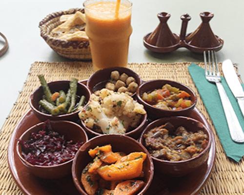 モロッコの伝統的な料理