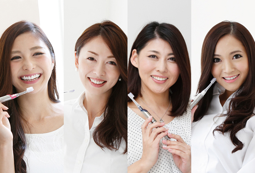活躍する女性は歯がキレイ